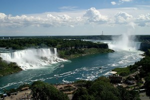 American, Bridal Veil and Horseshoe Falls