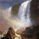 Niagara Falls: Alberdt Bierstadt Oil Painting