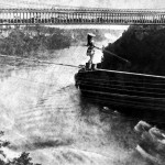 Niagara Falls: Maria Spelterini at Suspension Bridge