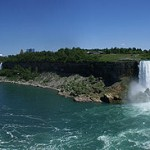 Niagara Falls: Panorama View From Canadian Side