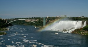 Rainbow Bridge Niagara River
