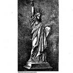 Statue of Liberty Bartholdis design patent