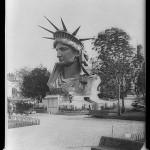 Statue of Liberty Head in Paris